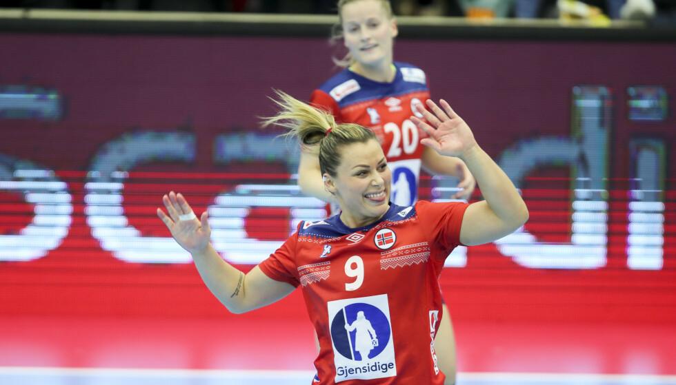 Nora Mørk og Norge spiller VM-kamper på dagtid. Foto: Vidar Ruud / NTB scanpix