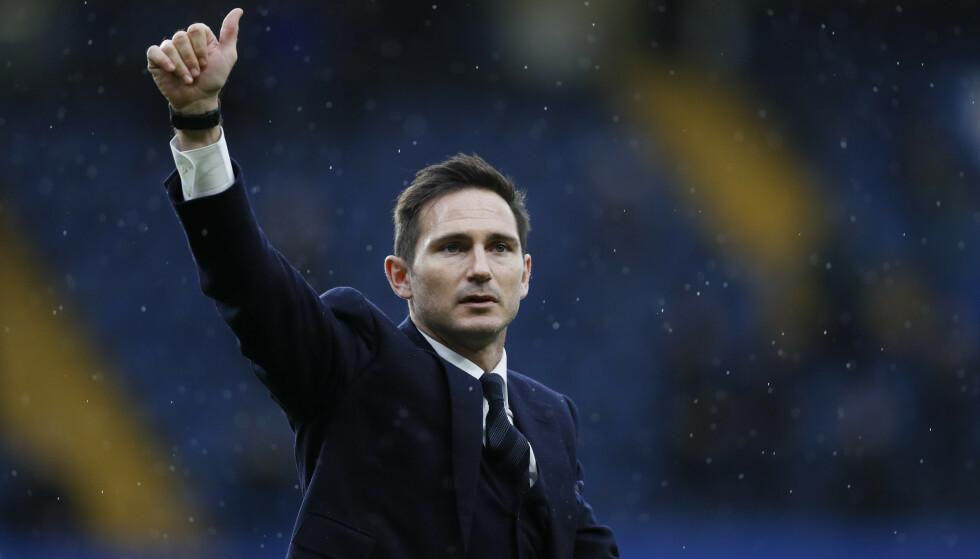 Frank Lampard overtar manageransvaret i Chelsea. 41-åringen har legendestatus i klubben etter 13 suksessrike år som spiller mellom 2001 og 2014. Foto: Kirsty Wigglesworth / AP / NTB scanpix