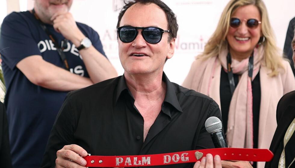 Quentin Tarantino åpner Cannes Film Festival i år. Nå antyder han å være ferdig som filmregissør. Foto: NTB scanpix / Reuters