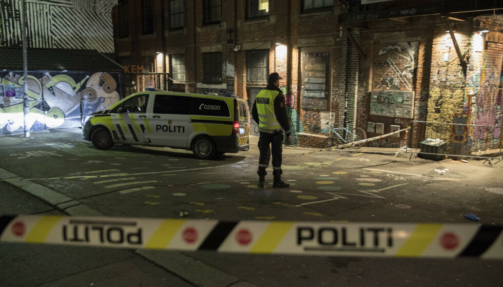 Det var her på det populære utestedet Blå på Grünerløkka de to mennene ble knivstukket. Foto: Vidar Ruud / NTB scanpix