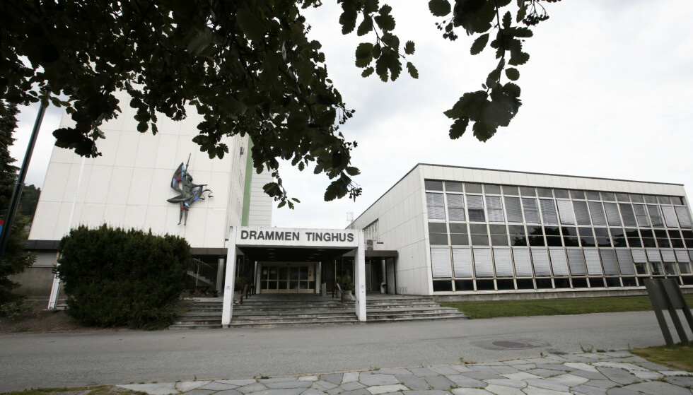 En mann i 30-årene er tiltalt for drap et dødsfall på en boinstitusjon for rusavhengige i Drammen i slutten av juni 2018. Saken er sendt til Drammen tingrett for beramming. Foto: Lise Åserud / NTB scanpix