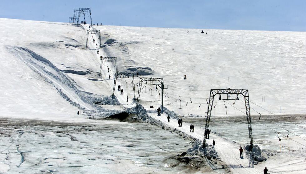 Tidlig snøsmelting gjør at Folgefonna Sommarskisenter stenger allerede denne helgen. Arkivfoto: Lise Åserud / NTB scanpix