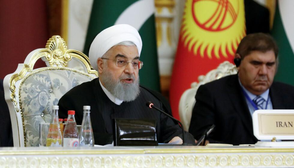 Irans president Hassan Rouhani. Foto: NTB scanpix