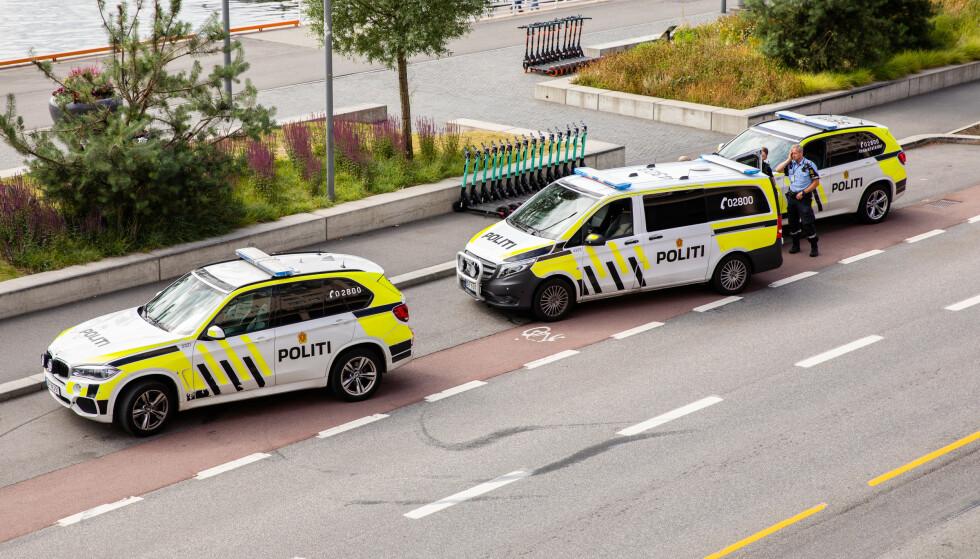 Etterlyst kvinne stakk av fra politiet i Oslo