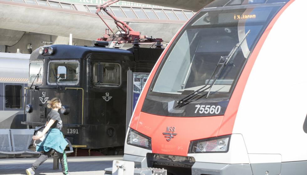 Flere byer på Østlandet har lagt storslåtte planer for byutvikling med jernbanen i sentrum. Nå endrer regjeringen og Jernbanedirektoratet kurs, fordi utgiftene må ned. Foto: Terje Pedersen / NTB scanpix