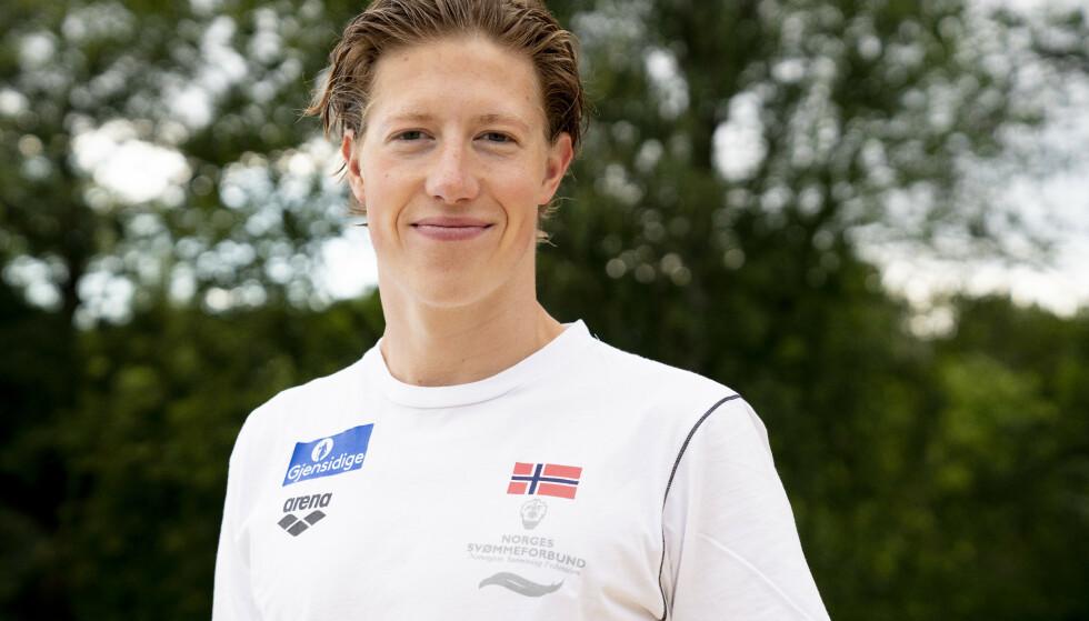 Henrik Christiansen er videre til finalen på 800 meter fri i svømme-VM. Arkivfoto: Fredrik Hagen / NTB scanpix