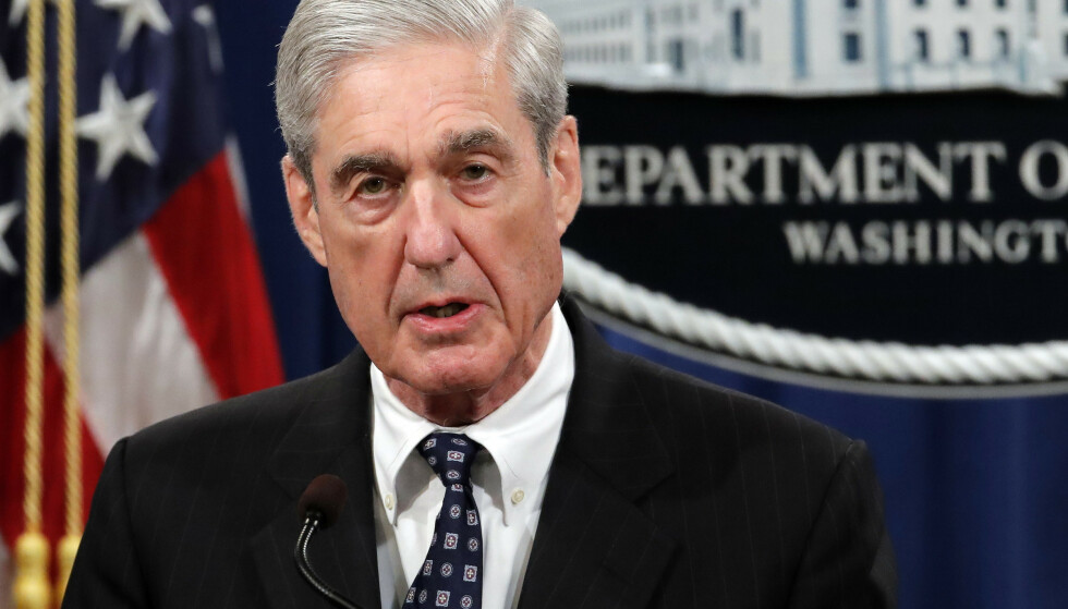 Spesialetterforsker Robert Mueller beskrives som en taus og mystisk mann, men onsdag er han nødt til å svare på spørsmål fra de folkevalgte i minst fem timer. Seansen sendes direkte på fjernsyn slik at alle amerikanere kan følge med. Foto: Carolyn Kaster / AP / NTB scanpix