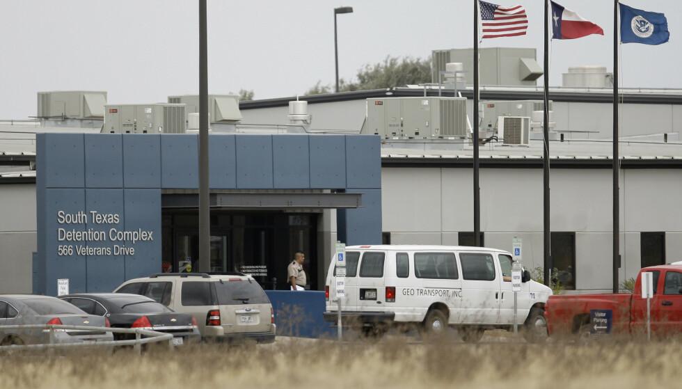 18-åringen fra Texas ble urettmessig anholdt i dette lukkede mottaket i Pearsall i Texas. Arkivfoto: Eric Gay / AP Photo/ NTB scanpix