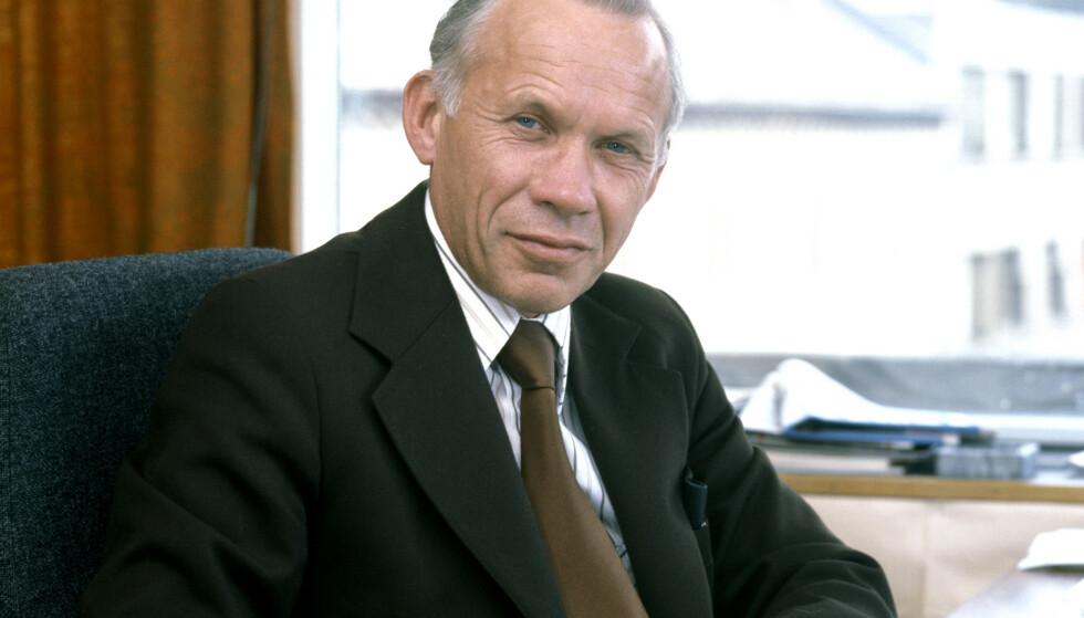 Tidligere kommunalminister Leif Jørgen Aune er død, 94 år gammel. Foto: NTB / Scanpix