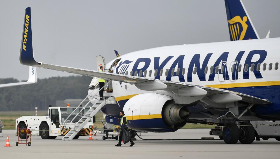 Ifølge den britiske fagforeningen mangler Ryanair standard arbeidsavtaler som forventes av enhver arbeidstakerforening. Ryanair mener pilotene ikke har noe «mandat» til å streike. Illustrasjonsfoto: AP / NTB scanpix