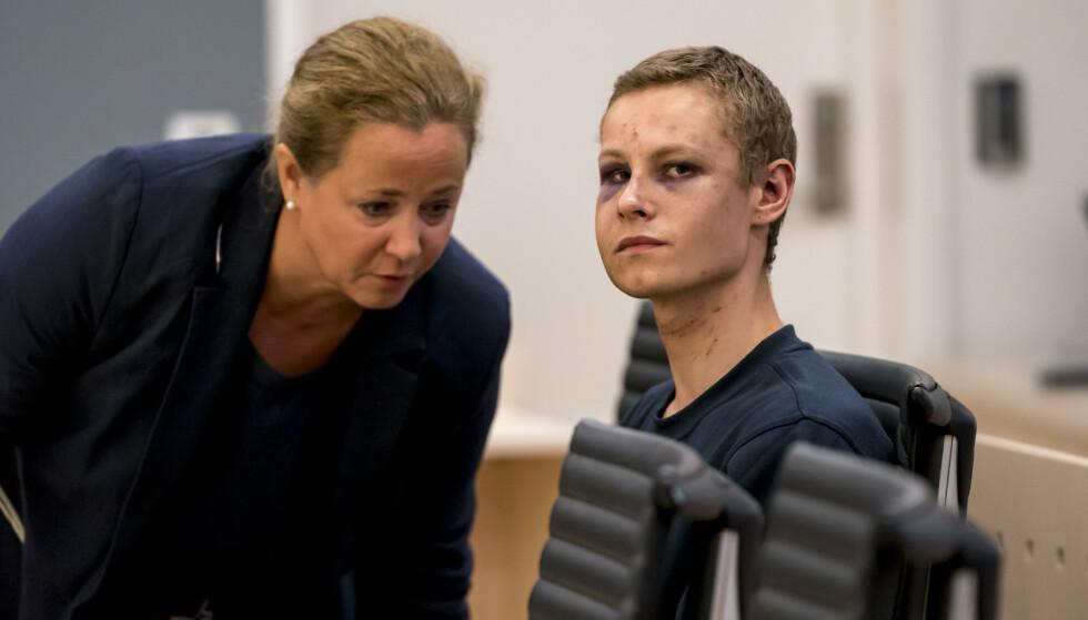 Philip Manshaus er siktet for terror etter angrepet på Al-Noor Islamic Center moskéen i Bærum. Han er også siktet for drap på sin stesøster. Foto: Cornelius Poppe / NTB scanpix