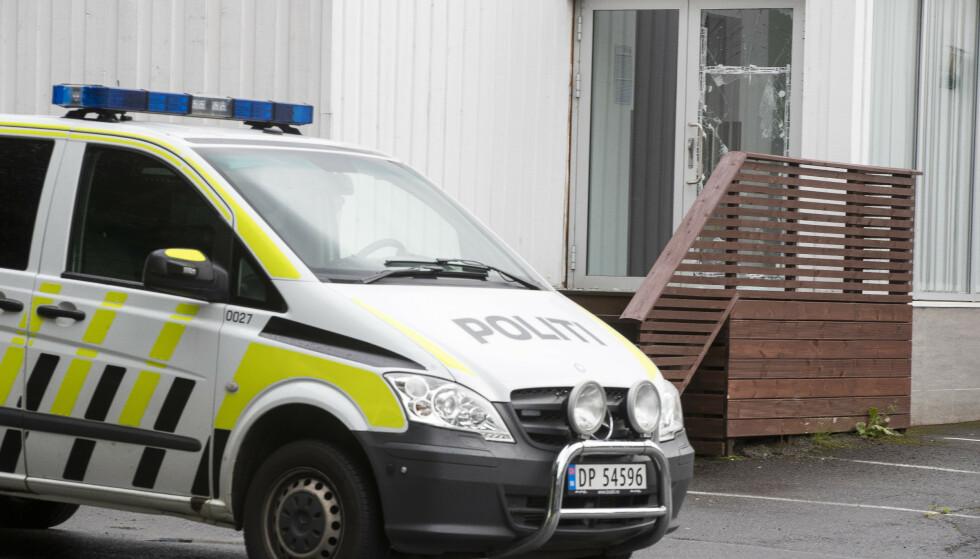 Politiet brukte 15 minutter på å komme fram til Al-Noor Islamic Centre i Bærum. Foto: Terje Pedersen / NTB scanpix