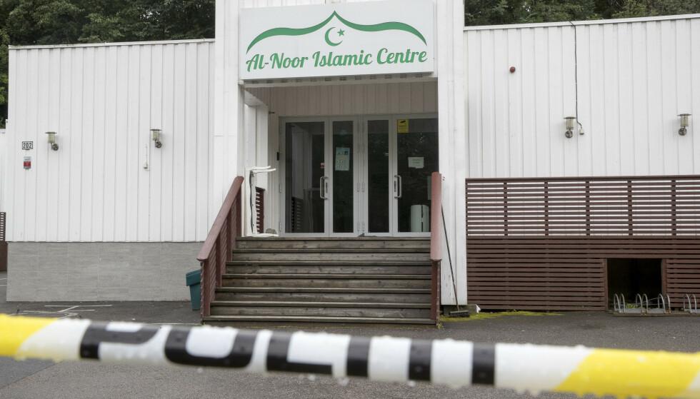 Philip Manshaus er siktet for terror etter at han forrige lørdag tok seg inn i Al-Noor-moskeen på Skui i Bærum og løsnet skudd. Nå skal politiets håndtering av angrepet evalueres. Foto: Terje Pedersen / NTB scanpix