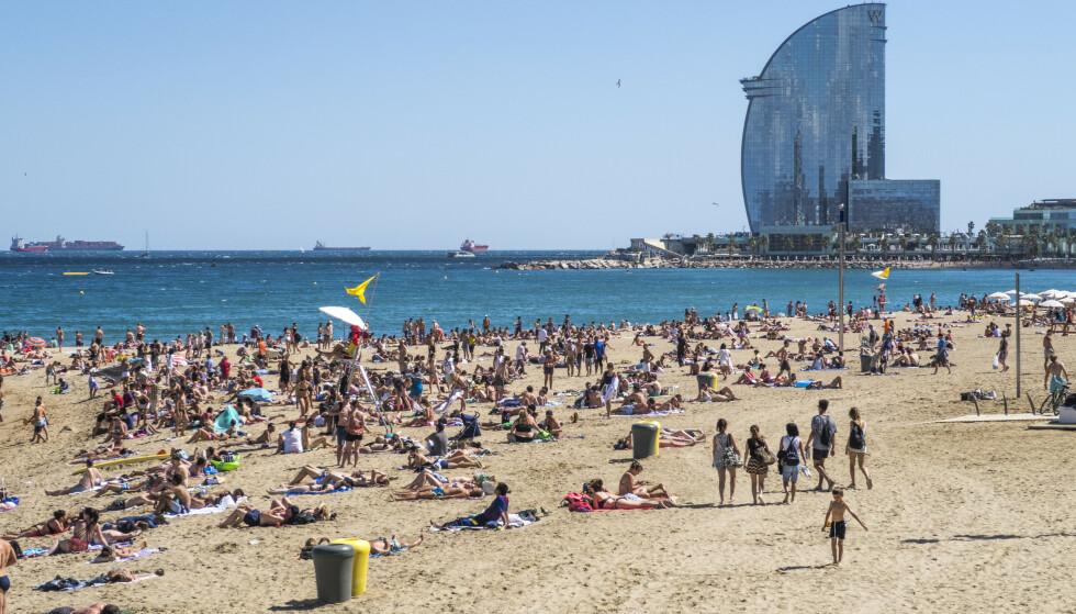 Det har vært en økning i antall ran i feriefavoritten Barcelona. 1,6 millioner mennesker bor i den spanske storbyen, og tiltrekker seg 14 millioner utenlandske turister hvert år. Foto: Halvard Alvik / NTB scanpix