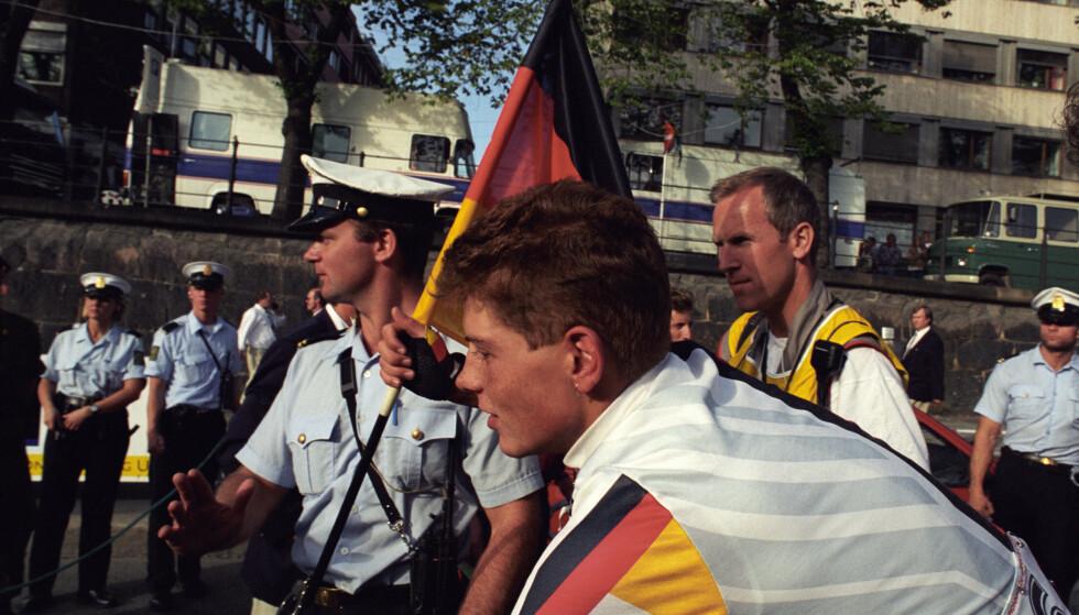 I 1993 vant 19 år gamle Jan Ullrich amatørens fellesstart da sykkel-VM ble arrangert i OL. Fire år senere vant han Tour de France. Nå er han dømt for å ha overfalt en prostituert. Foto: Terje Bendiksby / NTB scanpix.