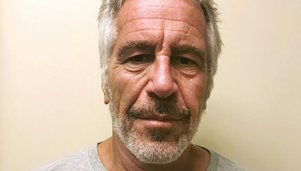 FBI gransker to ødelagte overvåkningskameraer ved Jeffrey Epsteins celle i Virginia. Foto: New York State Sex Offender Registry/ AP/ NTB scanpix