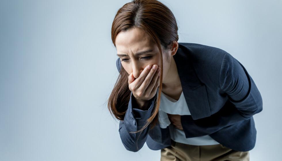 Hvordan blir man kvitt kvalmen? Foto: Shutterstock/NTB scanpix