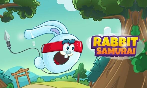 Help Rabbit Samurai å befri musene fra ulven