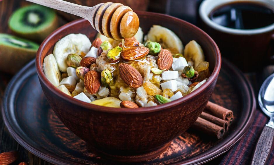 <strong>Hva bør du spise til kveldsmat? Foto:</strong> Bozhena Melnyk/Shutterstock/NTB scanpix.