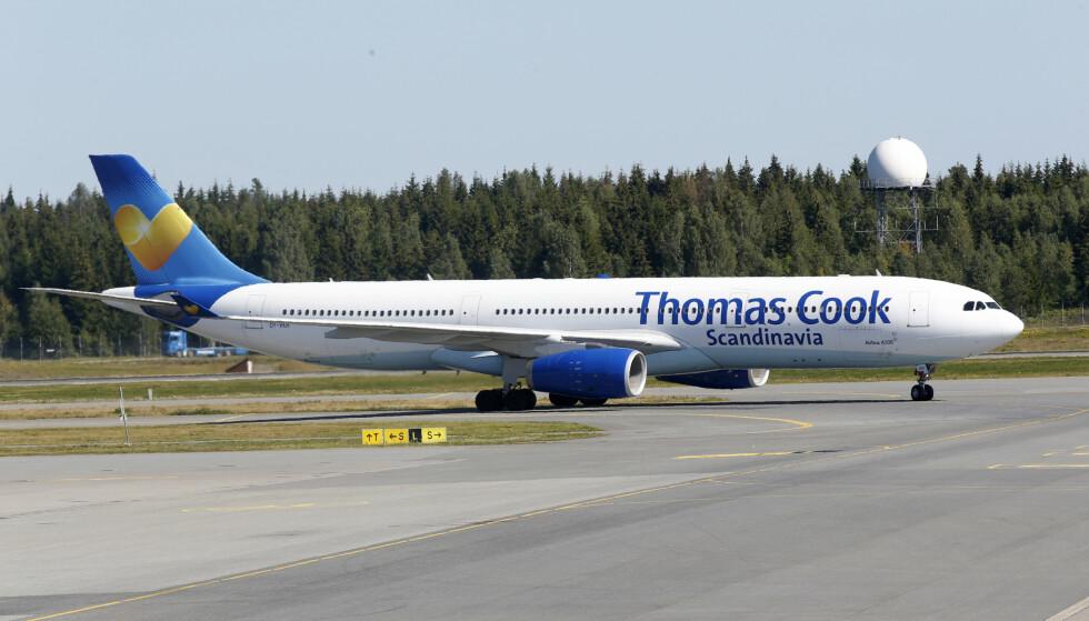 Titusener av reisende kan bli sittende uten mulighet for hjemreise om Thomas Cook går konkurs. Foto: Vidar Ruud / NTB scanpix