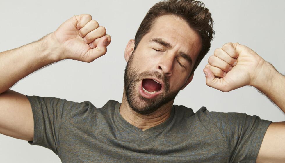 <strong>Hvorfor gjesper man? Foto:</strong> Sanneberg/Shutterstock/NTB scanpix.