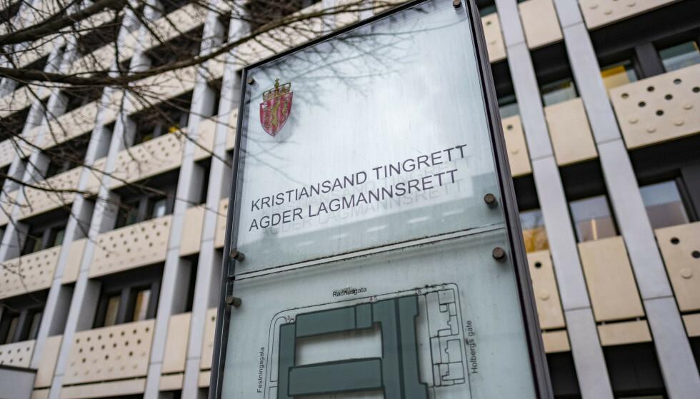 Kristiansand tingrett og Agder lagmannsrett i Kristiansand. Illustrasjonsfoto: Tor Erik Schrøder / NTB scanpix