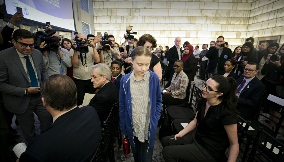 På litt over ett år har svenske Greta Thunberg blitt internasjonal kjendis. Foto: Pontus Höök / NTB scanpix