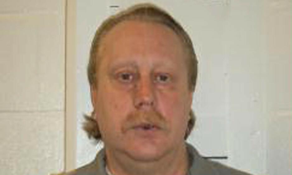Russell Bucklew (51) ble henrettet i Missouri tirsdag, til tross for advarsler om at den dødelige injeksjonen kunne gi ham en forferdelig smertefull død og at det kunne bli grotesk for dem som måtte håndtere det hele. Foto: Missouri Department of Corrections / AP / NTB scanpix