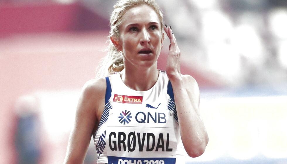 Karoline Bjerkeli Grøvdal har hatt to skuffende VM-konkurranser i Doha. Foto: Lise Åserud / NTB scanpix