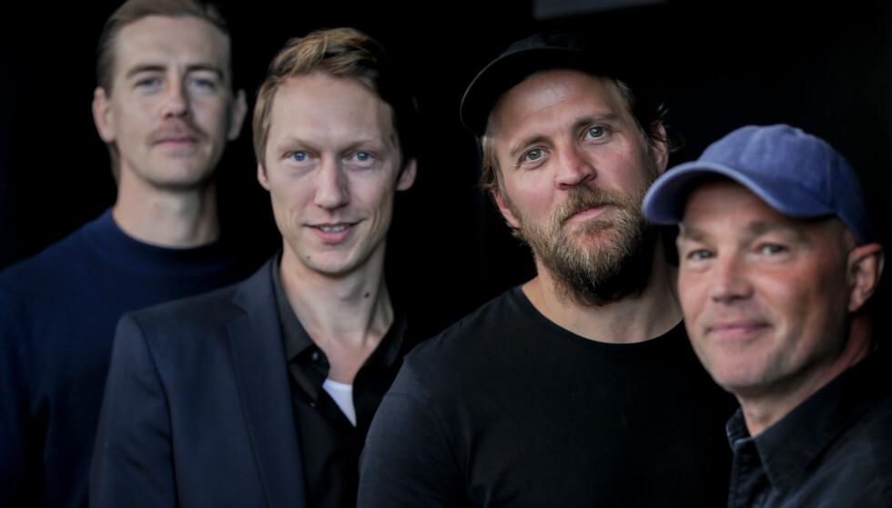Skuespillerne i NRKs TV-serie Exit. Foto: Vidar Ruud / NTB scanpix.