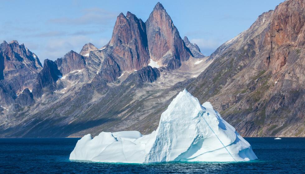 Det var mer is på Grønland for 80 år siden enn i dag, ikke mindre. Her fra sørøst på Grønland. Foto: Shutterstock /NTB scanpix