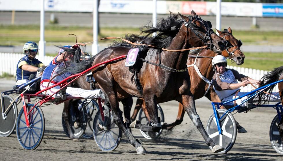 Det Norske Travselskap varsler konkurs og oppsigelser som følge av krav om innføring av tapsgrenser for hestespill. Foto: hesteguiden.com / NTB scanpix