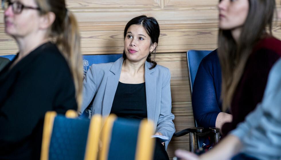 Miljøbyråd Lan Marie Nguyen Berg (MDG) sier at det har blitt begått flere tusen brudd på arbeidsmiljøloven i Oslo kommune siden 2016. Foto: Stian Lysberg Solum / NTB scanpix