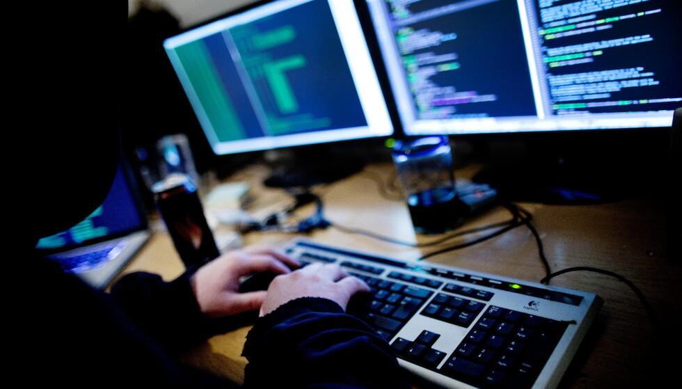 Hackere har lagt ut de hemmelige passordene til 362 politifolk og flere hundre tusen nordmenn. Foto: Thomas Winje Øijord / NTB scanpix