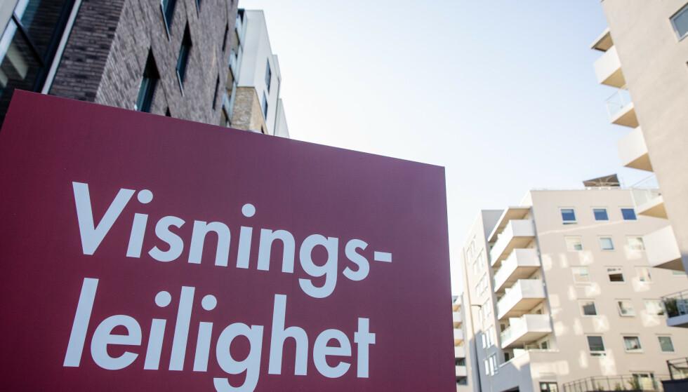 Et nytt forslag fra EU om å kreve manuell taksering for å få boliglån vil gjøre det langt dyrere for boliglånskunder, mener Finans Norge. Foto: Audun Braastad / NTB scanpix