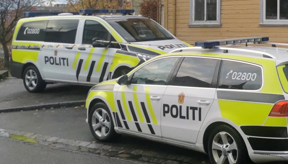 En kvinne er død etter en alvorlig voldshendelse i Trondheim søndag ettermiddag. Foto: Joakim Halvorsen / NTB scanpix