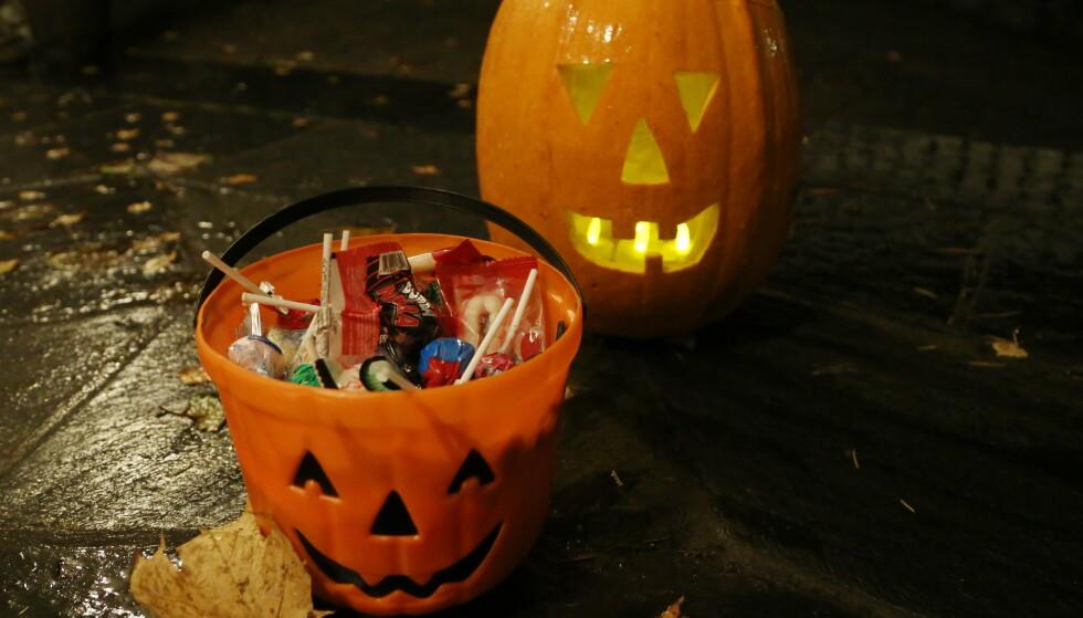 Bare 24 prosent sier de skal markere halloween, men hele 40 prosent opplever kjøpepress. Illustrasjonsfoto: Erik Johansen / NTB scanpix