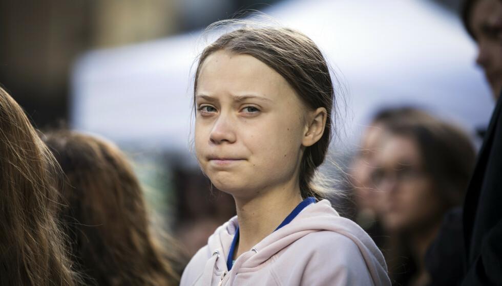 Den svenske klimaaktivisten Greta Thunberg nekter å ta imot Nordisk råds miljøpris. Foto: Melissa Renwick / The Canadian Press via AP / NTB scanpix