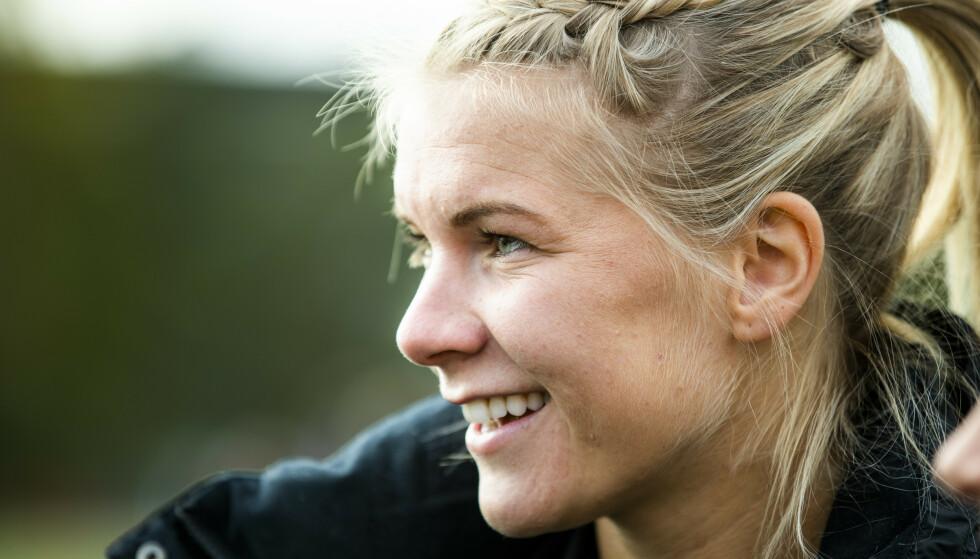 Ada Hegerberg er alene på scoringstoppen i mesterligaen. Foto: Berit Roald / NTB scanpix