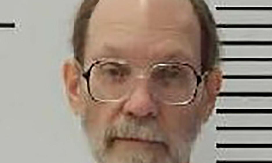 Dødsdømte Charles Rhines, som mandag ble henrettet i USA. Han var dømt for å ha drept sin tidligere kollega da ha ble overrasket under et tyveri i 1992. Foto South Dakota Department of Corrections/AP/ NTB scanpix