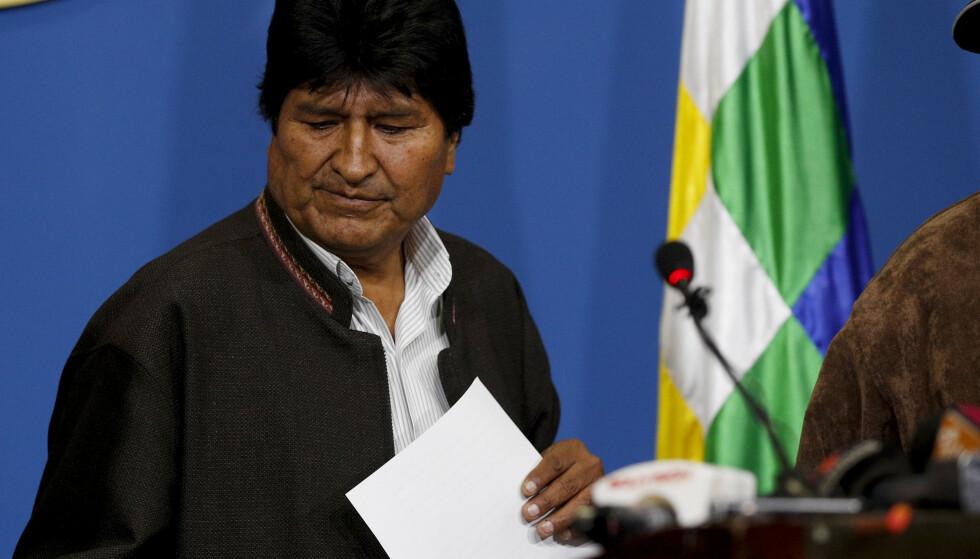 Bolivias president Evo Morales har fått innvilget asyl i Mexico. Foto: AP / NTB scanpix