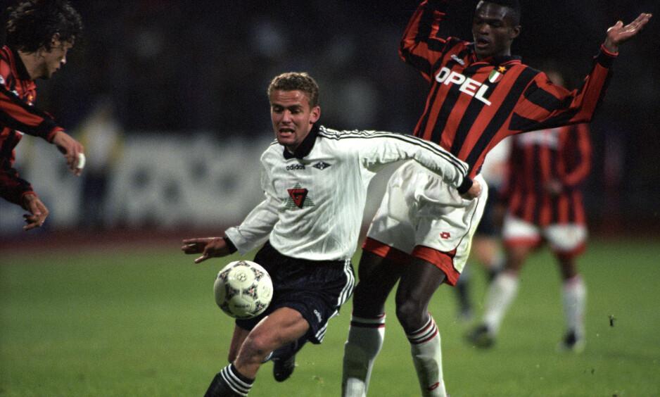 Vegard Heggem under glansdagene som Rosenborg-spiller i 1996. Om tre måneder går Heggem ut av trønderklubbens styre. Foto: Tor Richardsen/NTB scanpix
