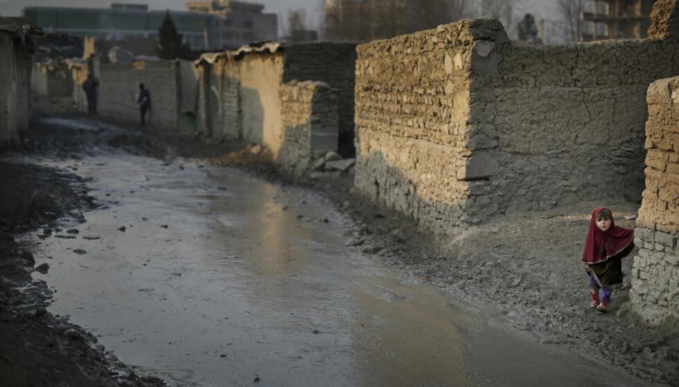 Krigen i Afghanistan har drevet millioner av mennesker på flukt. Bildet er fra en leir for internt fordrevne i Kabul. Arkivfoto: AP / NTB scanpix