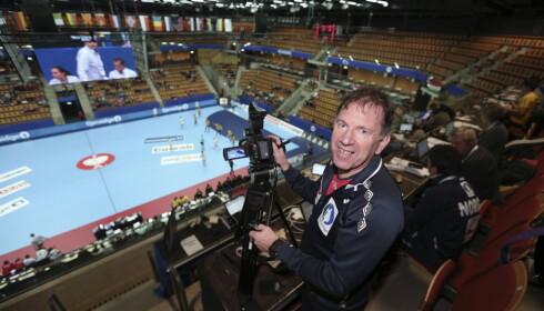 Henning Krøger er videoanalytiker for Norges kvinnelandslag. Foto: Vidar Ruud / NTB scanpix