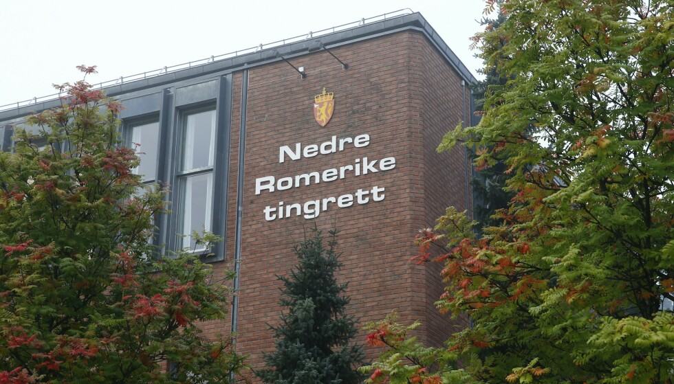 En mann i 40-årene er i Nedre Romerike tingrett dømt til 13 og et halvt års fengsel. Foto: Heiko Junge / NTB scanpix