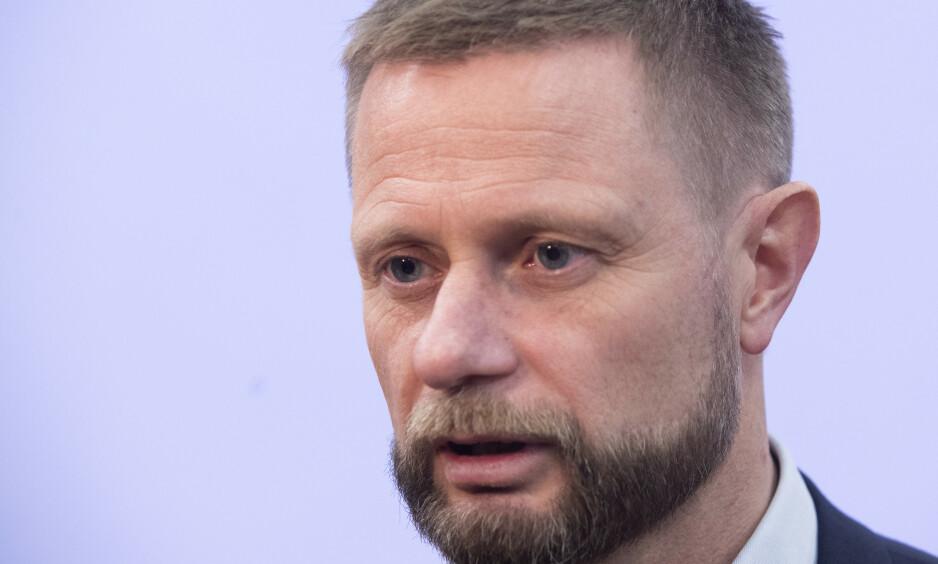 Helseminister Bent Høie satte ned Rusreformutvalget i 2018. (Foto: Terje Bendiksby / NTB scanpix)