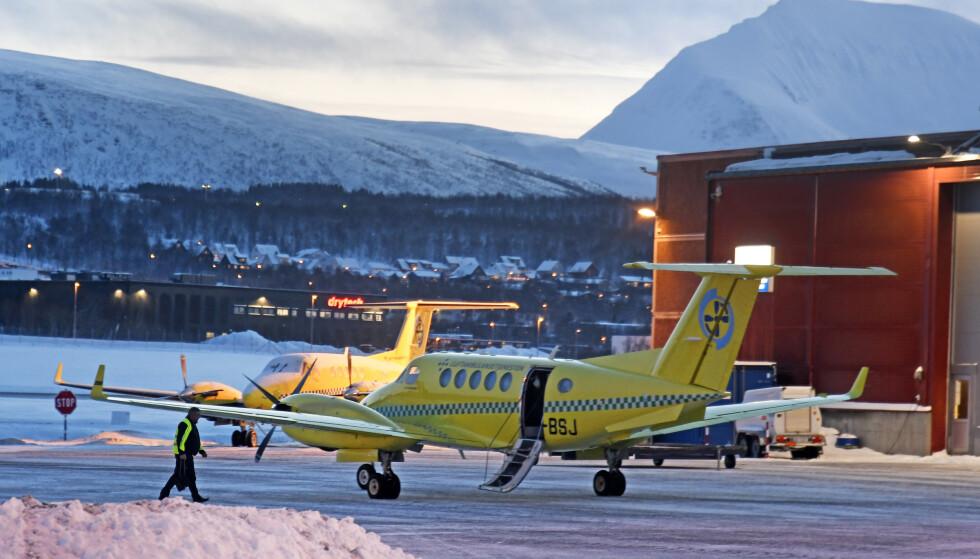 Alle ambulanseflyene i Finnmark er torsdag ute av tjeneste på grunn av sykdom, opplyser Babcock. Foto: Rune Stoltz Bertinussen / NTB scanpix.