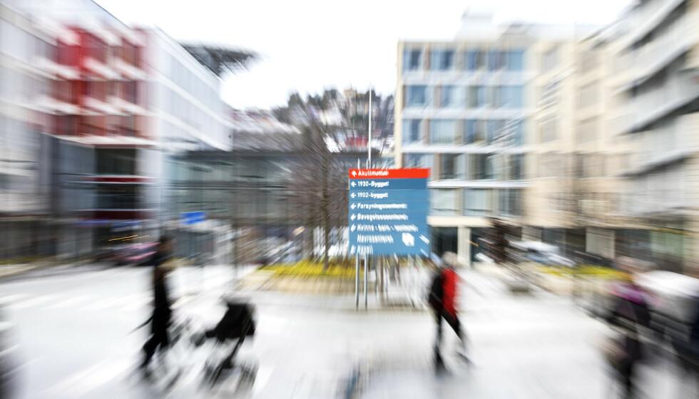 Å ikke møte til avtalt time på sykehus vil heretter koste dyrt. Regjeringen øker gebyret med 50 prosent. Foto: Gorm Kallestad / NTB scanpix