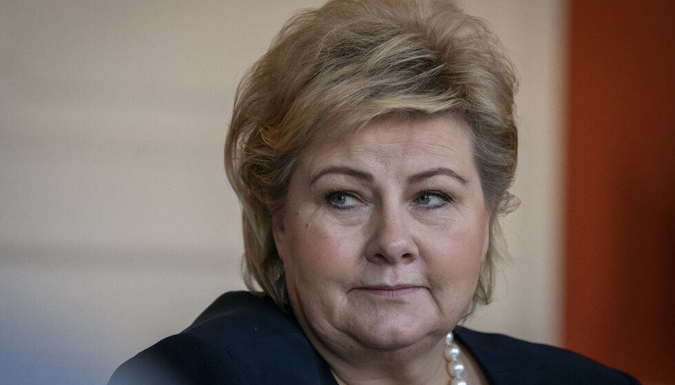 Statsminister Erna Solberg. Foto: Heiko Junge / NTB scanpix