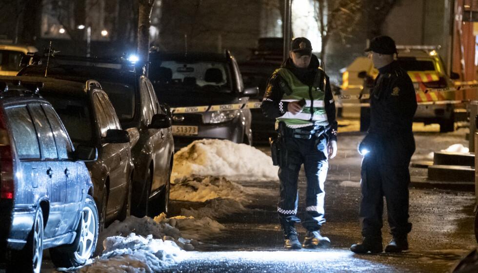 En mann ble skutt i Trondheim sentrum på kvelden torsdag 5. desember. Foto: Ned Alley / NTB scanpix
